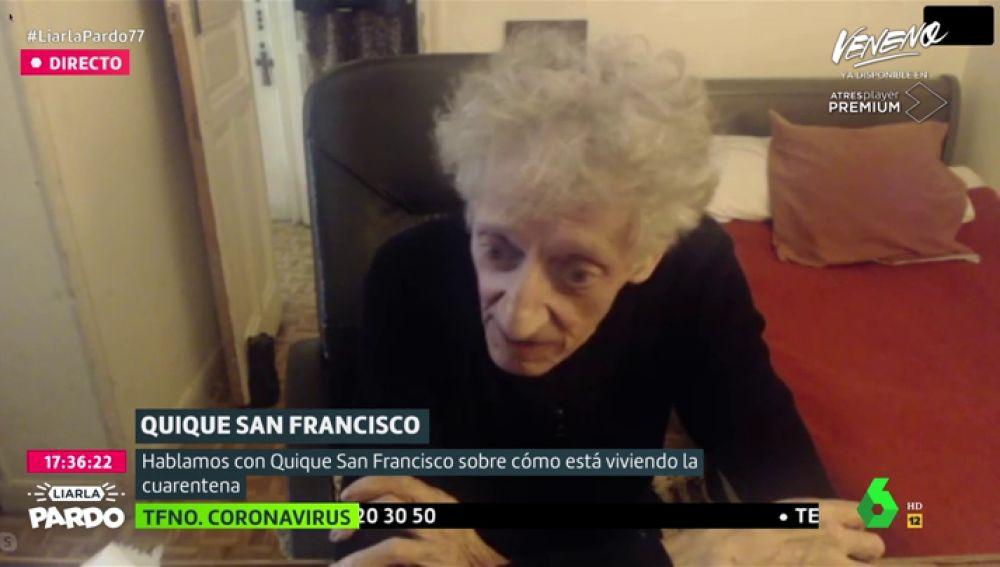 Quique San Francisco en Liarla Pardo