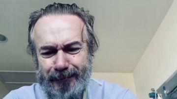 """El emotivo testimonio del actor Tristán Ulloa tras superar el coronavirus: """"Es muy tercermundista todo"""""""