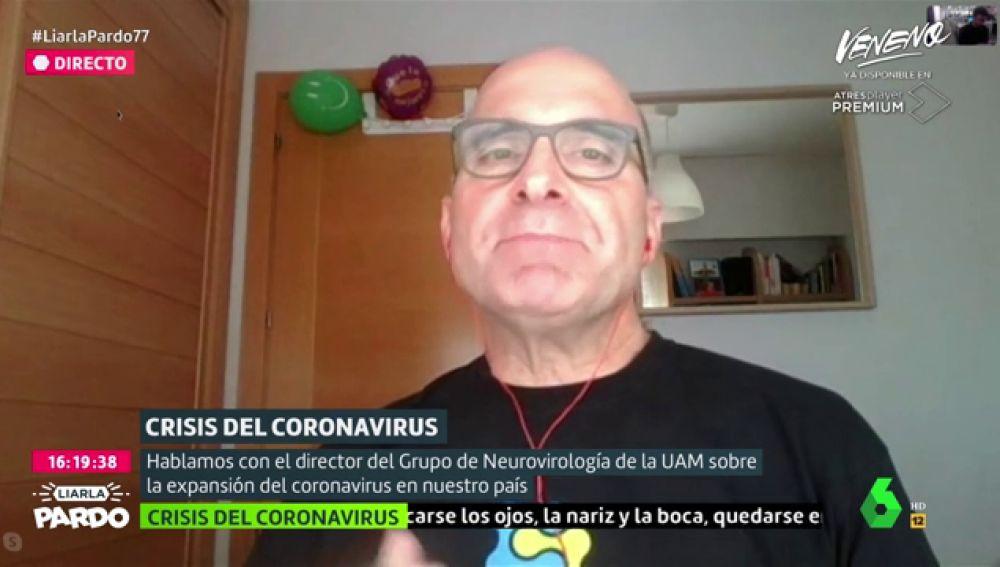 El neurovirólogo López Guerrero explica qué tratamientos se están usando para combatir al coronavirus