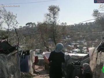 Campo de refugiados, Lesbos