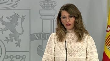 Imagen de archivo de la ministra de Trabajo, Yolanda Díaz