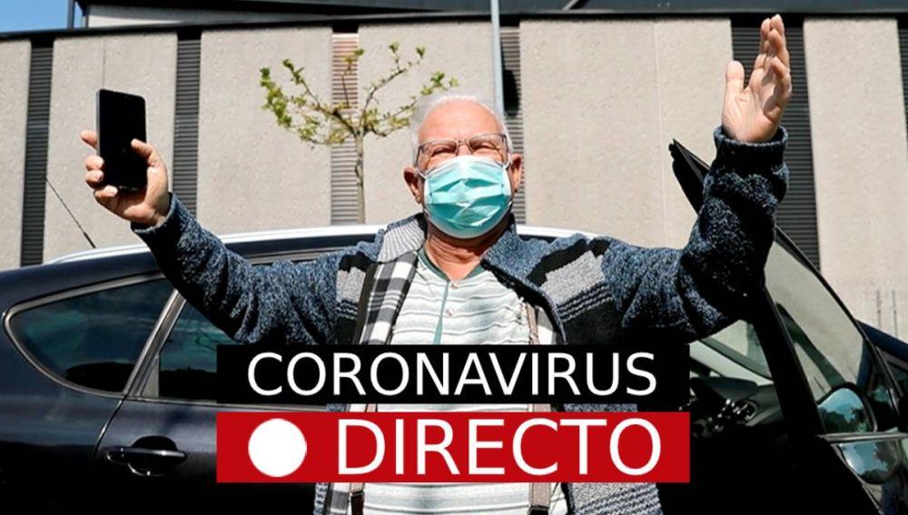 AHORA: Más de 94.000 positivos en coronavirus y 8.189 fallecidos en España