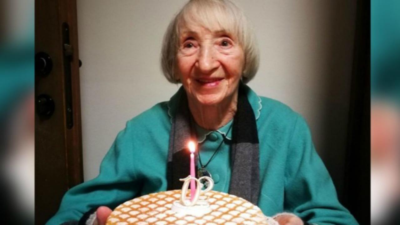 Lina, de 102 años, ha superado el coronavirus.
