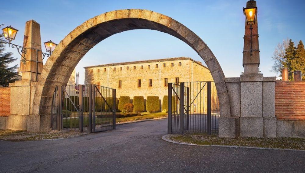 La destilería del grupo Beam Suntory en España, ubicada en Palazuelos del Eresma, en Segovia.