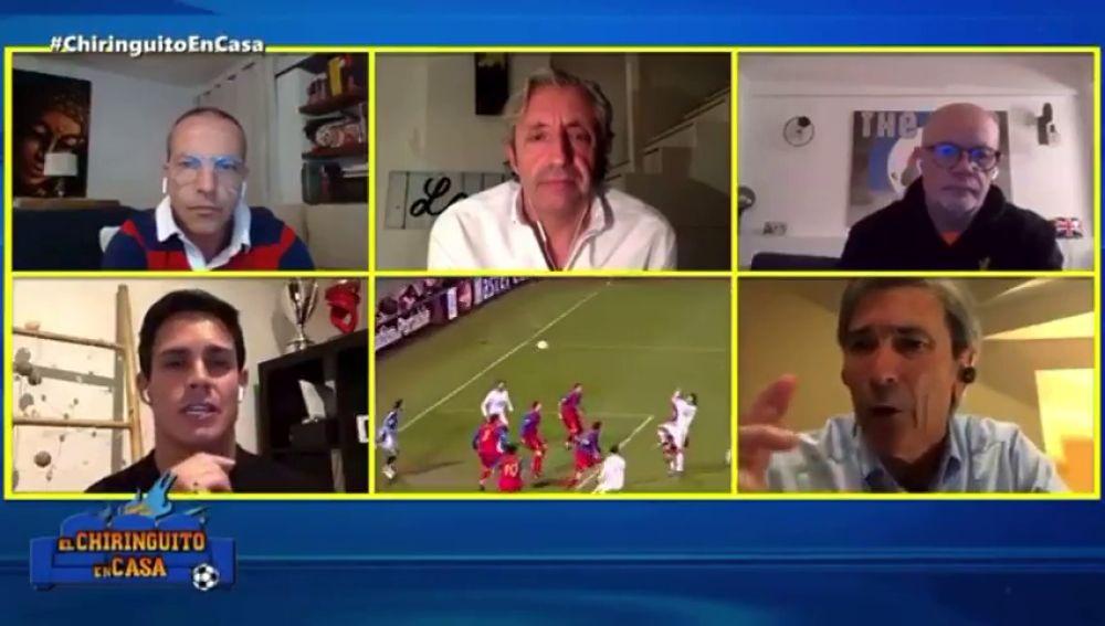 La sorprendente respuesta de 'Lobo' Carrasco cuando le piden que elija entre Piqué, Ramos y Van Dijk