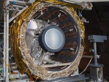 Imagen facilitada por la NASA del propulsor iónico NEXT-C