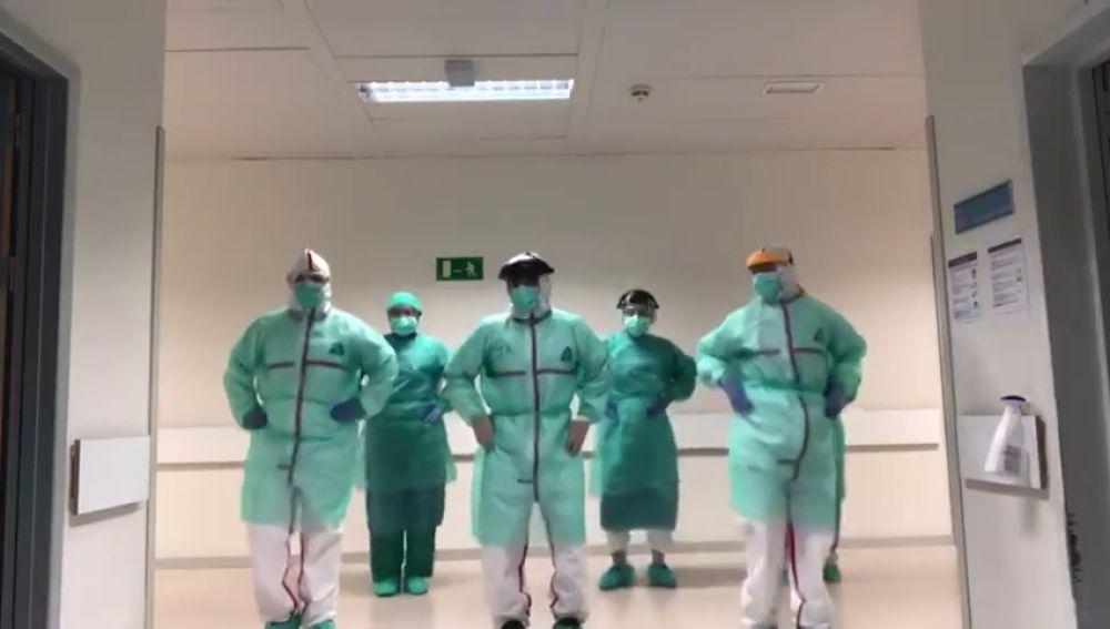 El baile viral al ritmo de Beyoncé de unos sanitarios que tratan pacientes con coronavirus