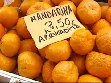 Precio mandarinas