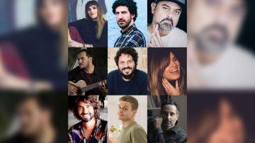 Los artistas que se han sumado a la campaña #UnidosParaDonar