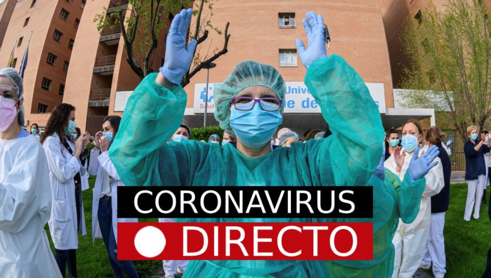Fuerte baja en la cifra diaria de muertos — Coronavirus en España