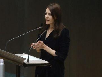 Rita Maestre en el Pleno del Ayuntamiento de Madrid