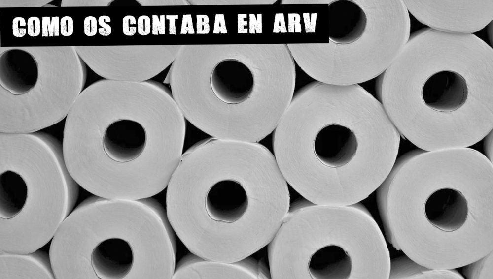 Imagen de archivo de papel higiénico