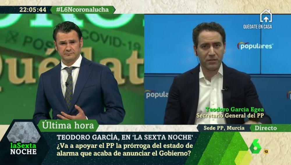 """García Egea: """"El Gobierno está poniendo la ideología por encima de la salud de los españoles; a lo único que ha llegado a tiempo es al 8M"""""""