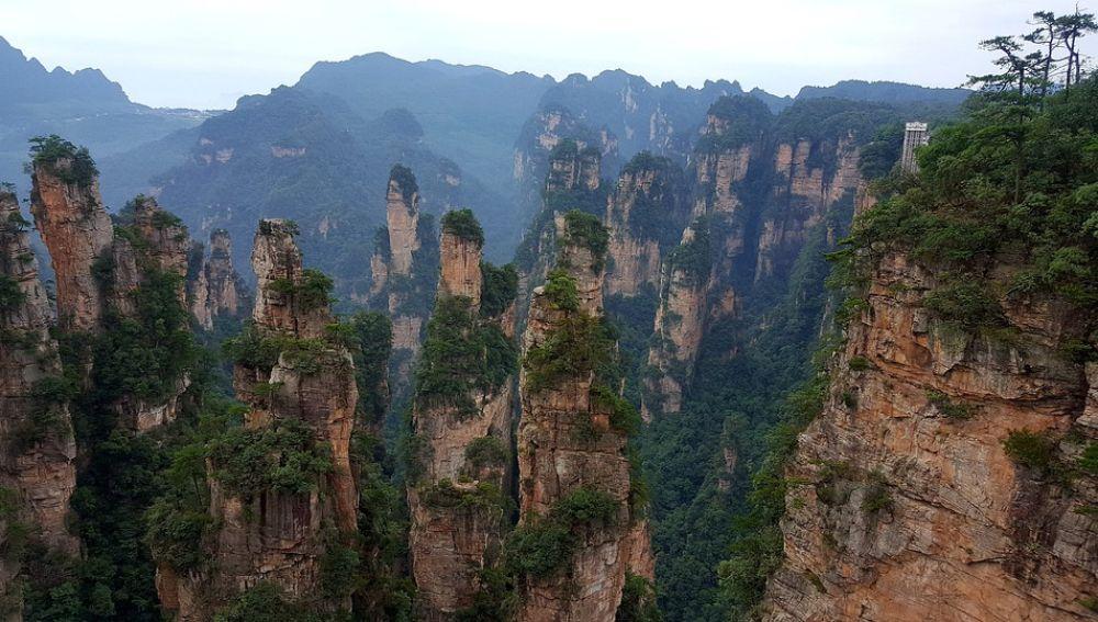 Montañas de Zhangjiajie