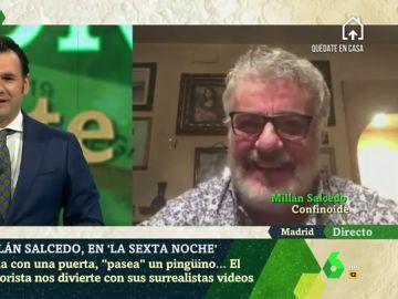 El humor como vacuna contra el coronavirus: la receta de Millán Salcedo para salvar un confinamiento solo en casa