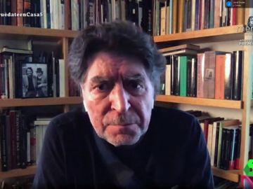 """La reflexión de Joaquín Sabina sobre las muertes por coronavirus: """"Es apocalíptico, uno no puede acostumbrarse a este espanto"""""""
