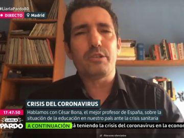 César Bona, mejor profesor de España