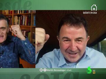 El Gran Wyoming entrevista al chef Martín Berasategui