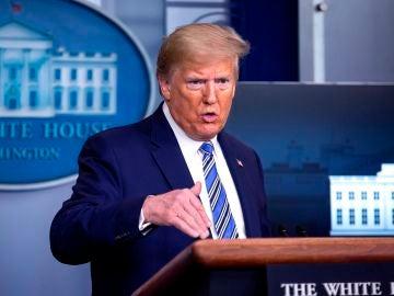 El presidente de EEUU, Donald Trump