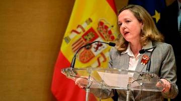 La vicepresidenta económica, Nadia Calviño