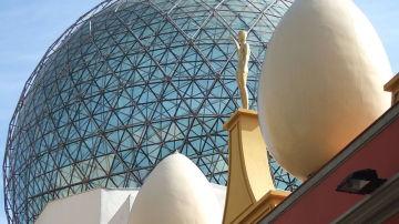 La cúpula del Teatre-Museu Dalí