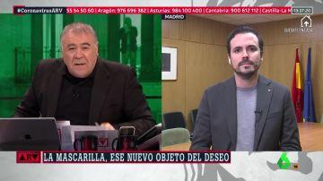 Al rojo vivo (21-04-20) Alberto Garzón asegura que serán los menores de 14 años quienes podrán salir de casa