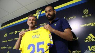 Fali, jugador del Cádiz