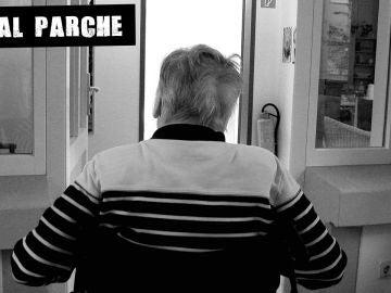 Anciano en una residencia