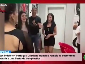 Cristiano Ronaldo se salta el confinamiento: las pruebas que muestran la 'pillada' al futbolista