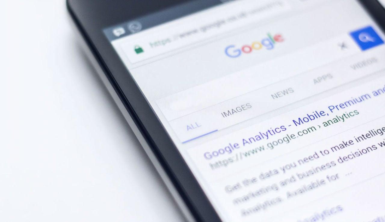 Buscador de Google en el móvil