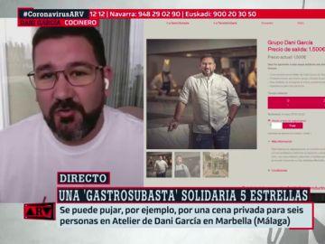 Experiencias con Dani García o Ferran Adrià: la 'gastrosubasta' por la que ya puedes pujar para recaudar contra el coronavirus