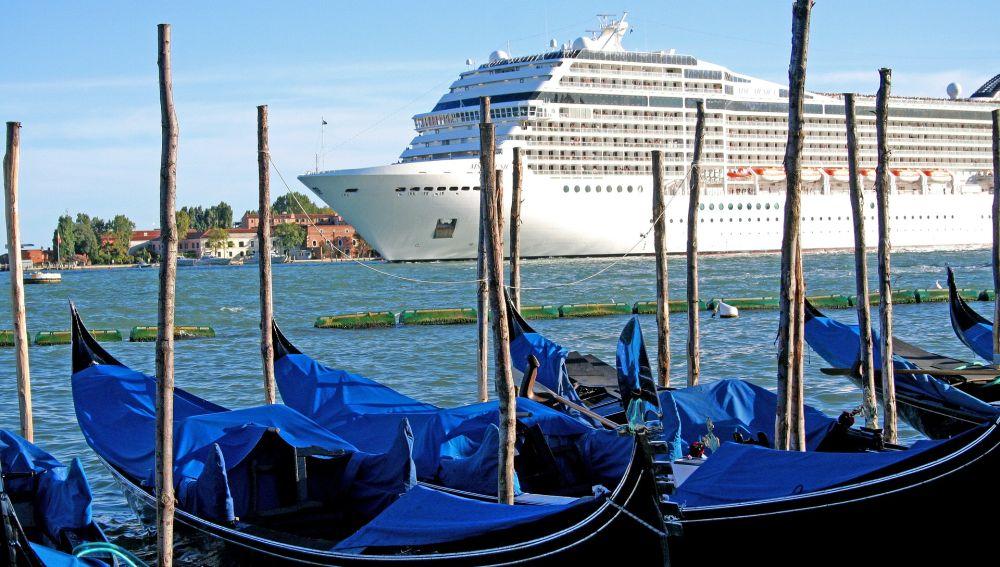 Actividad marítima en Venecia