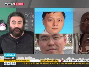 La reflexión de El Sevilla sobre el efecto del coronavirus en dos médicos chinos