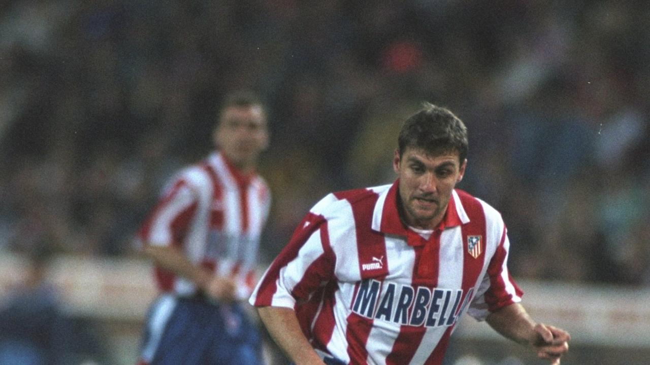 Christian Vieri, con el Atlético