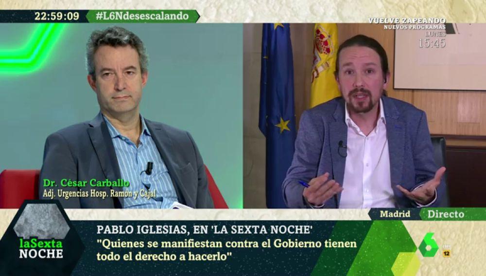 ¿Qué tres errores cambiaría Pablo Iglesias en la gestión del Gobierno del coronavirus?