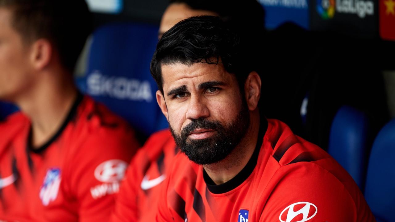 Diego Costa, con el Atlético