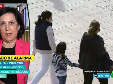 """Margarita Robles: """"No nos podemos permitir una situación de riesgo ni un retroceso"""""""