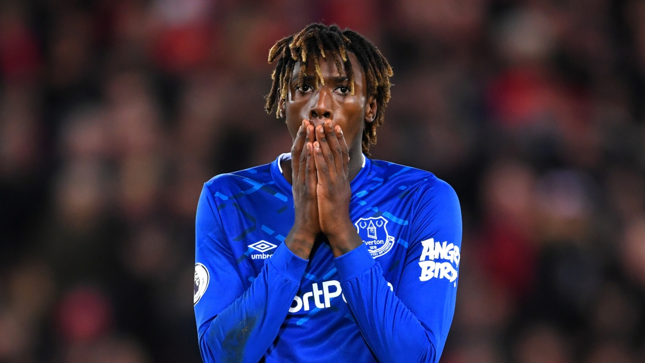 Moise Kean, del Everton