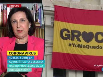 Margarita Robles, ministra de Defensa, en El Objetivo.
