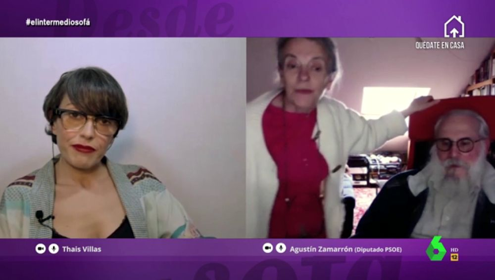 """La mujer de Agustín Zamarrón se confiesa con Thais Villas: """"Le reprocho que se metiera en este lío, nos ha estropeado la jubilación"""""""