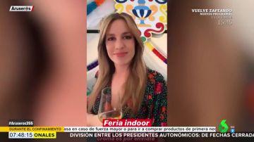 Así ha celebrado Paula del Fraile su propia Feria de Abril en 'versión cuarentena'