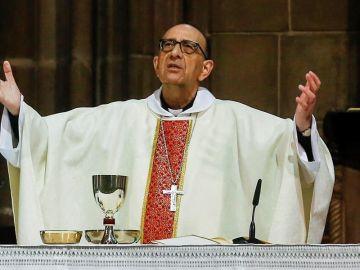 El arzobispo de Barcelona y presidente de la Conferencia Episcopal, el cardenal Juan José Omella.