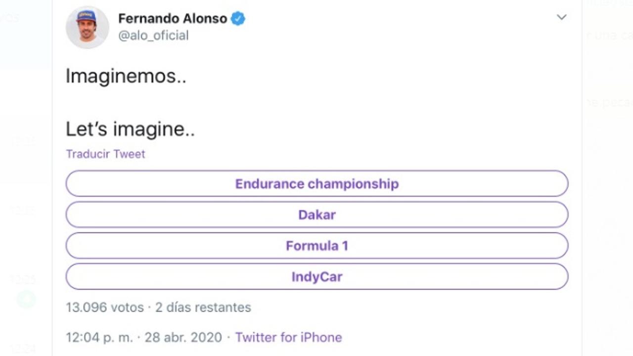 Encuesta de Fernando Alonso
