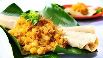 Picadillo de papa y carne, plato típico de Costa Rica
