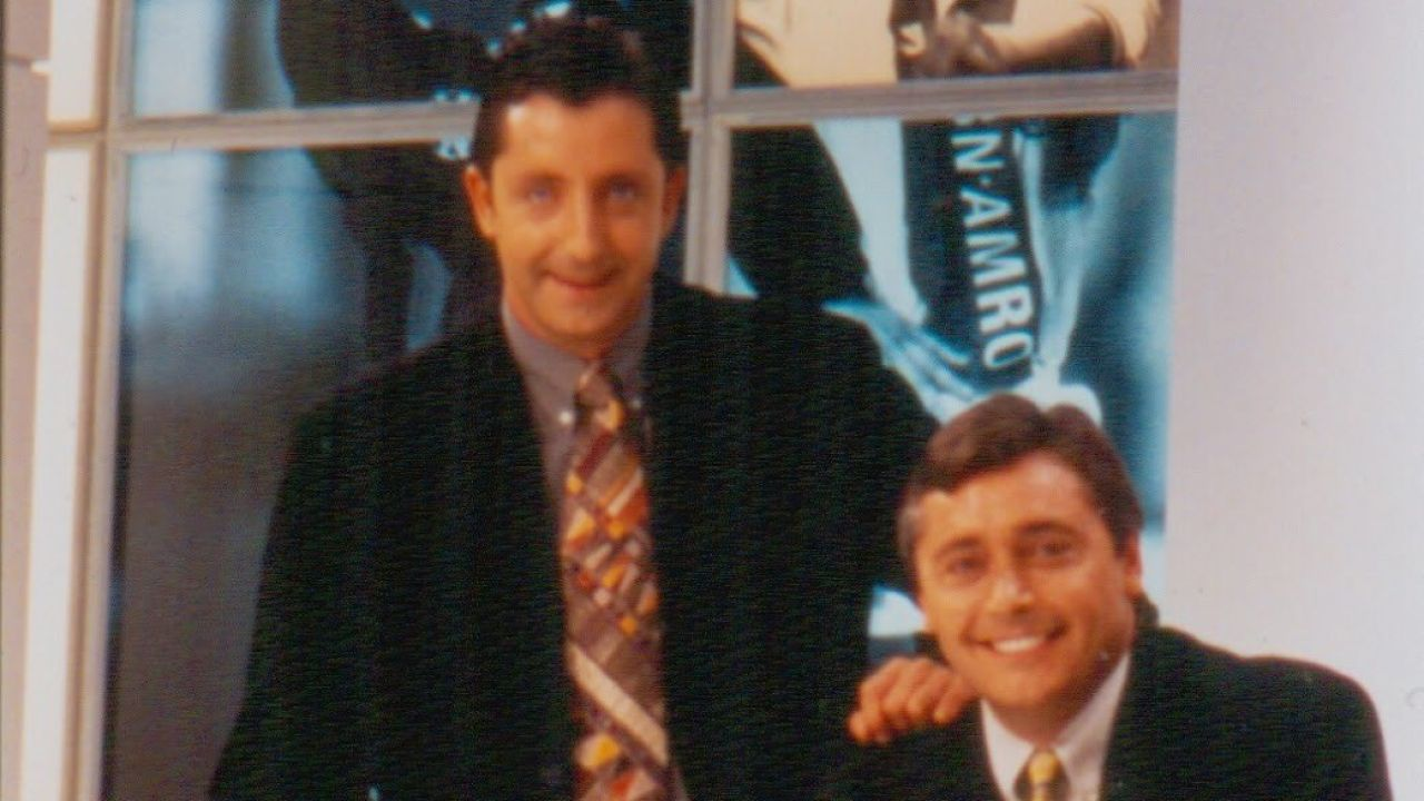 Josep Pedrerol y Michael Robinson en 'El Día Después'