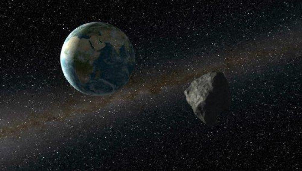 El gran asteroide 1998 OR2 pasa cerca de la Tierra este miercoles