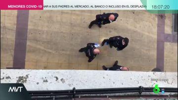 """La discusión entre un transportista y un policía: """"Estoy trabajando igual que tú, ¿crees que me puedes multar con 1.500 euros?"""""""