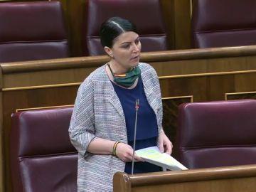 Macarena Olona, en el Congreso de los Diputados