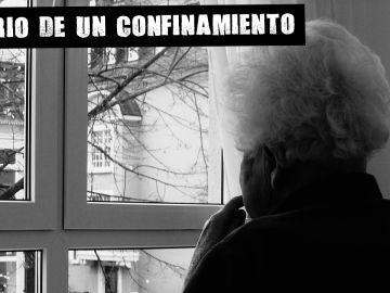 Imagen de una mujer dependiente en una residencia