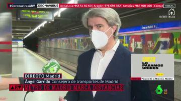 Madrid defiende que la mascarilla sea obligatoria en Metro y Cercanías: